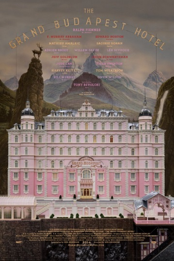 Film Form and Content : Cinematography (The Grand Budapest Hotel)